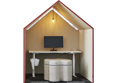 The Hut - Amélioration acoustique de l'espace de travail