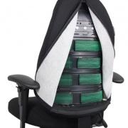 Siège ergonomique T4000 - Mal de dos et TMS - Azergo