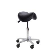 Chaise assis-debout Jumper pour les positions assis-debout en laboratoire, caisse, école
