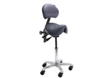 Chaise de travail - Tertiaire ou Industrie - Position assis-debout pour gagner en dynamisme et soulager les douleurs