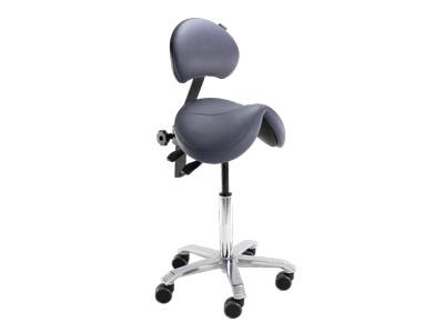 Chaise assis-debout Jumper pour une assise saine et dynamique au poste de travail assis-debout