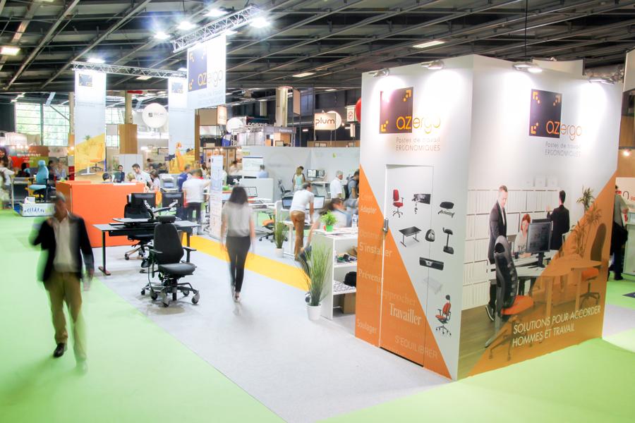 Stand Azergo Préventica Paris 2017 - Ergonomie des postes de travail