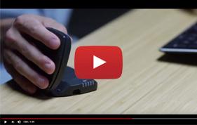 Souris ergonomique Unimouse - Limiter les douleurs du poignet et de la main
