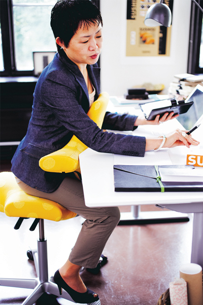 Siège ergonomique Capisco - Alterner les postures de travail