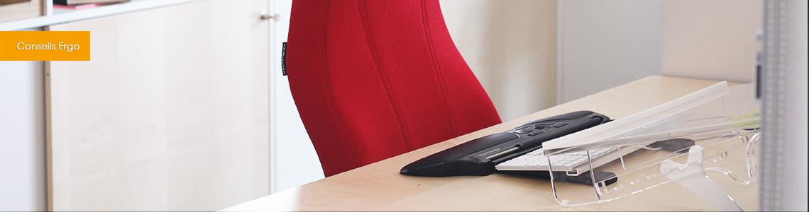 Les accessoires ergonomiques pour être bien installé au bureau
