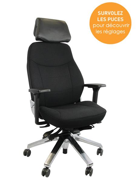 Mode d'emploi interactif - Siège Stohl 24 - Confort au bureau