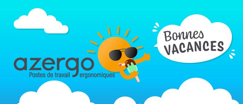 Bonnes vacances 2019 - Azergo