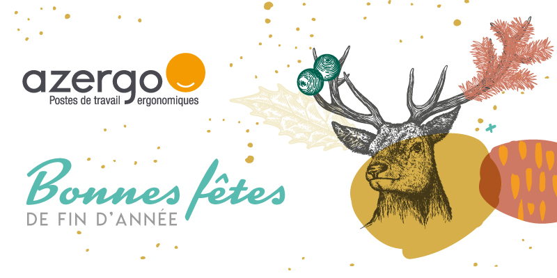Azergo vous souhaite de bonnes fêtes de fin d'année 2019