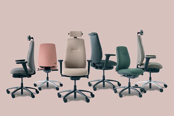 Gamme New Logic - Une chaise pour éviter les douleurs au dos au bureau