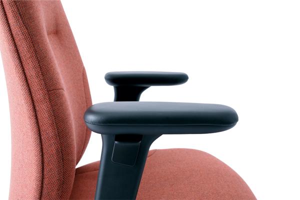 Siège New Logic - Zoom Accoudoirs - Chaise ergonomique pour travailler