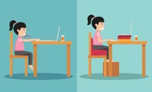 Ecole à la maison : Meilleure concentration et confort grâce à l'ergonomie