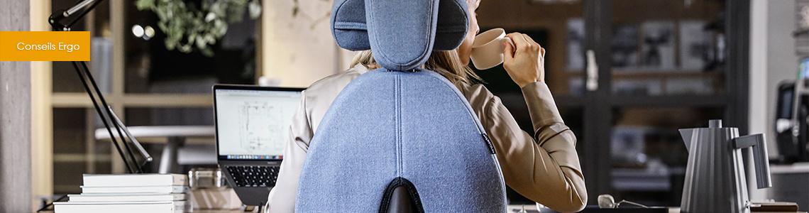 Mal au dos, épaules, bras : éviter les douleurs pendant le télétravail - Confinement
