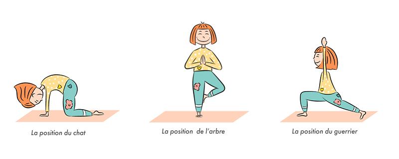 Bienfaits du yoga chez l'enfants - Posture et ergonomie