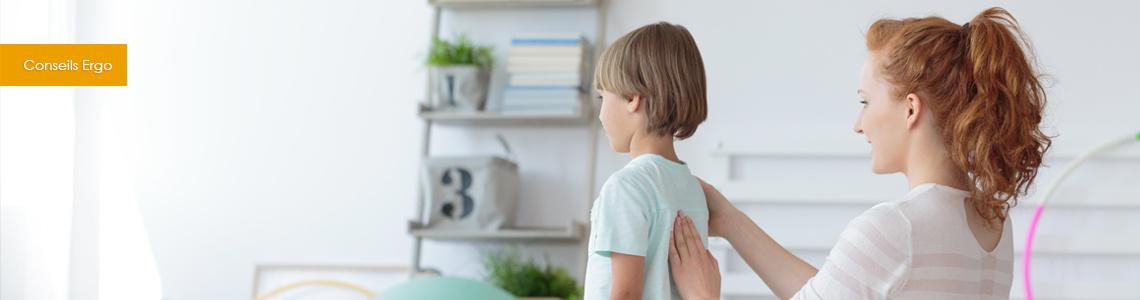 ergonomie pour les enfants - Adopter les bonnes postures pour rester en bonne santé