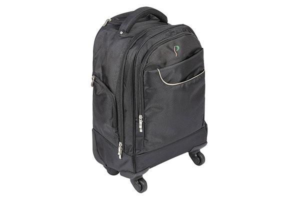 Sac à dos Trolley pour matériel de travail - PC - Ordinateur - Plusieurs poches et rangements